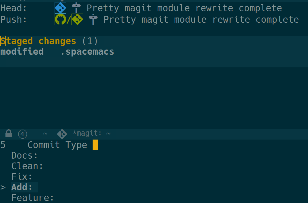 Pretty Magit - Integrating commit leaders | Modern Emacs