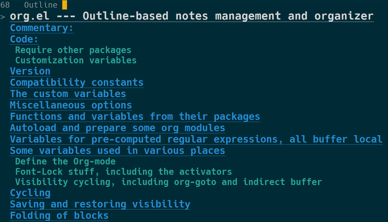 Emacs on Modern Emacs